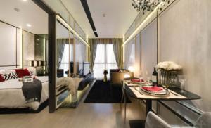 For SaleCondoSukhumvit, Asoke, Thonglor : Urgent sale, the cheapest price, Ashton Asoke, 1 bedroom price 7.49 million baht, 30th floor + new room, contact 0869017364