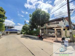 For SaleHouseRathburana, Suksawat : House 87.4 square meters, behind the corner, Sup Somboon Village, Soi Pracha Uthit 74/1