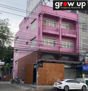 For RentShophouseBangna, Lasalle, Bearing : FR003: Commercial building, 4 floors, 2 booths, Soi Bearing 60 For Rent 50,000 bath !!! Hot Price !!! 💥