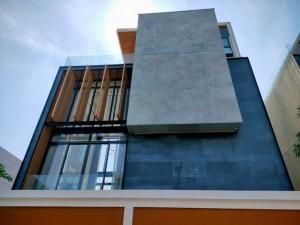 For SaleHouseKaset Nawamin,Ladplakao : HS367 Luxury 4-storey detached house for sale, The Primary V project, Kaset-Nawamin Convenient transportation, next to Prasert-Manukit Road