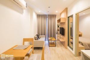For RentCondoRama9, RCA, Petchaburi : ID016_N 💖😍 IDEO RAMA 9-ASOKE, beautiful room, new decoration, fully furnished 💖😍