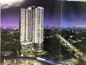 For RentCondoRattanathibet, Sanambinna : For rent Supalai Vista, Tiwanon Intersection, near MRT Yaek Tiwanon Station Near Big C (owner for rent), large room, 33 sqm., 16th floor (good weather), convenient transportation, ready to move Fully furnished and electrical appliances with washing machin