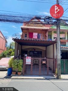 For SaleTownhouseSamrong, Samut Prakan : 2 storey townhouse for sale, Sangpanya Praksa Village, Samut Prakan