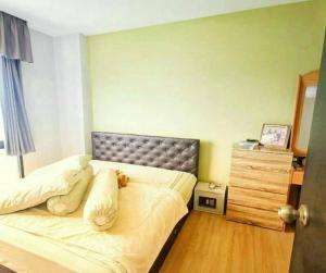 For SaleCondoBangna, Lasalle, Bearing : The cheapest sale !! G Haus Condo Sukhumvit 109 (Santikham 4) 5th floor, BTS Bearing.