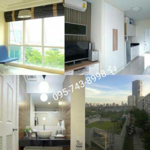 For RentCondoRama9, RCA, Petchaburi : Condo for rent, Garden Asoke, Rama 9, in the heart of the city, peaceful, shady, convenient transportation, near rca mrt, Petchaburi / Rama 9, special discount 🎉 8,500 / month, 1 month insurance + 1 month in advance