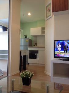 For SaleCondoOnnut, Udomsuk : TC0519 Lumpini Ville Condo 77/2 for sale, corner room, window facing Kasikorn Bank.