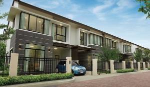 For SaleTownhouseNawamin, Ramindra : ‼️ 2 storey townhouse for sale, corner plot, fully furnished, Ramintra, Kubon