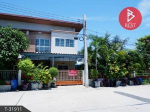 For SaleTownhouseSamrong, Samut Prakan : 2 storey townhouse for sale, real estate village, Tamru, Bang Pu, Samut Prakan