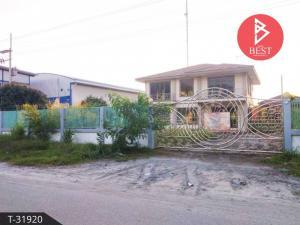 For SaleHousePattaya, Bangsaen, Chonburi : 2 storey detached house for sale, good atmosphere, Nong Khang Khok Subdistrict Mueang Chonburi District