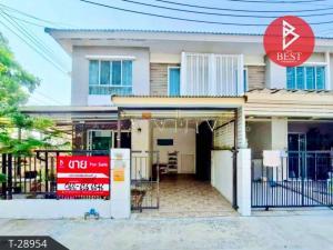 For SaleTownhouseSamrong, Samut Prakan : Cheap sale !! Townhouse behind the edge of Pruksa Ville 66/1 (Wat Nam Daeng).