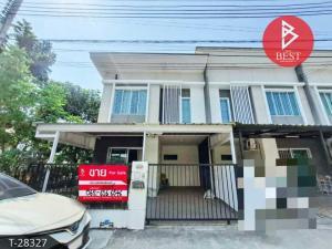 For SaleTownhouseSamrong, Samut Prakan : Townhouse for sale behind the corner, a lot of space, Pruksa Ville 66/1. Bangna-Namdaeng