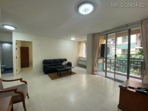 For SaleCondoBangna, Bearing, Lasalle : 2 bedroom condo for sale at The Parkland Bangna, Combine room with furniture Near Central Bangna