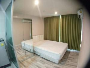 For RentCondoRamkhamhaeng, Hua Mak : Rent/Sell! The Cube Ramkhamhaeng 29 sq.m., 8th floor, price 6,500 baht, sale 1.69 million baht, with furniture and electrical appliances