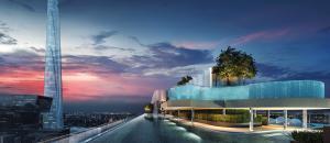 For SaleCondoRama9, RCA, Petchaburi : 🔥 出售 疫情 特价 🔥 拉玛 九 路 , 新 CBD Life Asoke Rama 9 公寓 , 1 卧室 391 万 泰铢