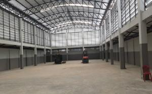 For RentWarehouseRangsit, Patumtani : For Rent for rent, warehouse with office, 2 floors, Phahon Yothin Road, Khlong Luang, Chiang Kong-Rangsit, warehouse area 920 square meters, very good location, convenient to travel.