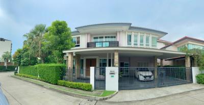 ขายบ้านเลียบทางด่วนรามอินทรา : ingle House For sale Grand Bangkok Boulevard Ramintra 4Beds 5Baths. 2Livingrooms