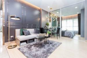 Sale DownCondoSamrong, Samut Prakan : (Owner) Resale Down Payment : Supalai Veranda Sukhumvit 117 Condo1 Bedroom, 35 SQ.M., 27 FL., North, Fully Furnished
