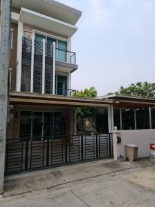 For SaleTownhouseVipawadee, Don Mueang, Lak Si : BS215 Townhouse for sale, 3rd floor, 3 bedrooms, 3 bathrooms, 3 rooms, Town Avenue Village 60, Laksi District location (Soi Vibhavadi 60)