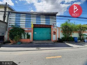 For SaleWarehouseSamrong, Samut Prakan : Warehouse and land for sale 50.0 square meters, Bang Muang, Samut Prakan.