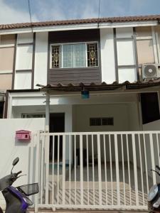 For SaleTownhouseNakhon Pathom, Phutthamonthon, Salaya : 2 storey townhouse for sale 16 square meters second hand.