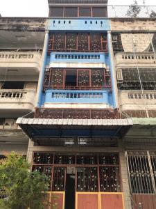 ขายตึกแถว อาคารพาณิชย์เอกชัย บางบอน : ขายที่ดินพร้อมตึกแถว5ชั้น ย่านบางบอน