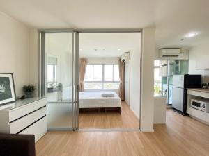 For RentCondoBang Sue, Wong Sawang : [A449] Last room **Special price 6,500 baht 🔥🔥🔥 Condo for rent, Lumpini Ville Prachachuen-Phongphet 2 (LPN VILLE PRACHACHUEN - PHONGPHET 2), size 26 sqm., 15th floor, Building B, near The Mall Ngamwongwan