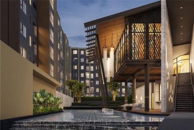 For RentCondoChiang Rai : Escent Ville Chiangrai, New Luxury Condo for rent