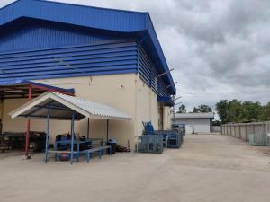 For SaleWarehouseRathburana, Suksawat : Warehouse and land for sale, size 500 sq.w., near the industrial ring expressway