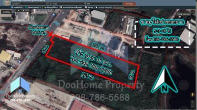 For SaleLandBangna, Lasalle, Bearing : 💥 Land for sale on Wat Sri Waree Road 9-3-16 rai, Thep Ratana Road Km.18 (Bangna-Trad Km.18)