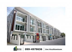 For SaleTownhouseRathburana, Suksawat : Last 8 units !!! Cozy Prachauthit