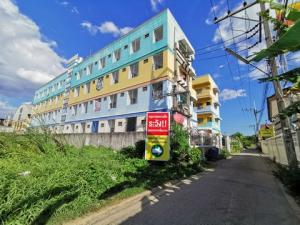 For SaleBusinesses for saleMahachai Samut Sakhon : Sale Apartment Phetkasem 87, 4-storey high, size 387 square meters, only 300 meters from Petchkasem Road.