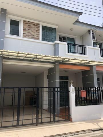 For SaleTownhouseRama5, Ratchapruek, Bangkruai : ขายทาวน์เฮ้าส์ 2 ชั้น หมู่บ้านนนท์ธารา2 ถนนนครอินทร์-พระราม5 ใกล้ รร.อนุบาลเด่นหล้า ใกล้ตลาดสดพระราม5 เข้าซอยไม่ลึก ถนนกว้าง 4 เลน