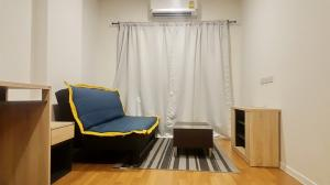 For SaleCondoBangna, Lasalle, Bearing : express! Condo for sale Lumpini Place Bangna Km. 3, size 26 sqm. Building A, 8th floor, fully furnished, near Central Plaza Bangna.