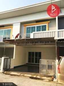 For SaleTownhousePattaya, Bangsaen, Chonburi : Townhouse for sale Fah Burin Project Near Amata City Industrial Estate, Bowin, Sriracha, Chonburi