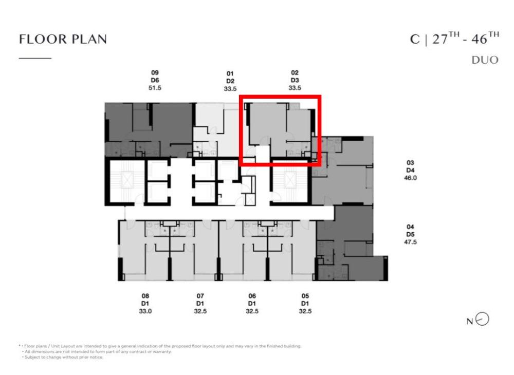 Sale DownCondoSukhumvit, Asoke, Thonglor : Park Thonglor C3702 Duo Space room, beautiful position, only 11.49 million baht.