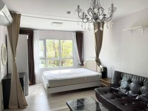 For RentCondoThaphra, Wutthakat : For rent Aspire Sathorn-Taksin (Brick Zone) Building A, beautiful room, fully furnished, near BTS Wutthakat.