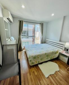 For SaleCondoOnnut, Udomsuk : Urgent sale !! Room 32 sqm, near BTS Bang Chak, just a 3 minute walk.