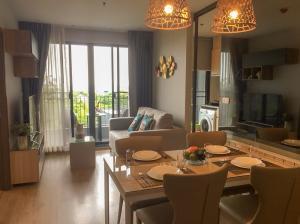 For RentCondoBangna, Lasalle, Bearing : Condo for rent, IDEO O2, near BTS Bangna and Bangkok Mall