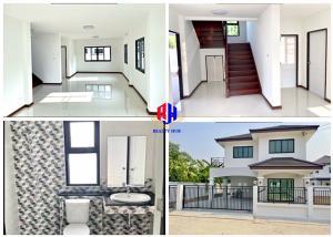 For SaleHouseRamkhamhaeng,Min Buri, Romklao : House for sale in the corner Foresta Village, 113 sq m, new vision, 40 new renovations, whole house