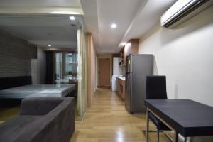 For RentCondoOnnut, Udomsuk : 🔥🔥Hot Deal! 🔥🔥 For rent Abstract condo Sukhumvit 66/1, size 46 sq m. Floor 4,1 bedroom 1 bathroom, BTS Udom Suk [Code: A233]