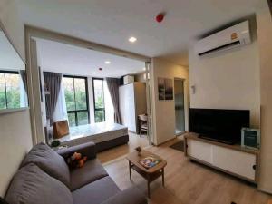 For RentCondoOnnut, Udomsuk : 🔥🔥Hot Deal! 🔥🔥 Rent Chambers Onnut Sukhumvit 81, size 27 sq m. 3rd floor, garden view, 1 bed 1 bath, BTS On Nut [Code: A236]
