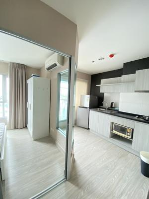 For SaleCondoChengwatana, Muangthong : Condo for sale Aspire Ngamwongwan - Sale 1,800,000 (negotiable), transfer fee 50/50, size: 28 sq m. 1 bedroom, 1 bathroom, 9th floor, nearby places – Phong Phet Market 300 m – Tesco Lotus – The Mall Ngamwongwan 700 m – Pantip Ngamwongwan 1.3 km.- Esplanad