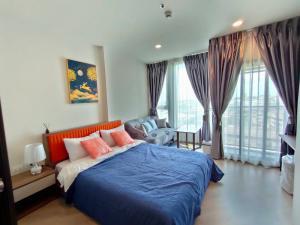 For RentCondoVipawadee, Don Mueang, Lak Si : For rent The Base Saphan Mai, next to BTS Sai Yud, 25sqm, 11th floor.