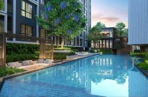 Sale DownCondoSathorn, Narathiwat : Sale down payment, new condo, big room, beautiful corner The price is lower than the cost!!!