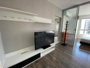 For RentCondoBangna, Lasalle, Bearing : Condo for rent dcondo Sukhumvit 109 * near BTS Bearing * complete electrical appliances very cheap