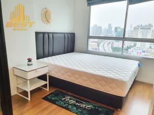 For RentCondoRama9, RCA, Petchaburi : Condo for rent Lumpini Park Rama 9 RCA, 1 bedroom, size 26 sqm., Building A, 22nd floor, city view, price 9,500 baht