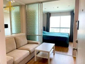 For RentCondoRama9, RCA, Petchaburi : Condo for rent Lumpini Park Rama 9 RCA, 1 bedroom, size 26.5 sq m., Floor 24, price 9,500 baht
