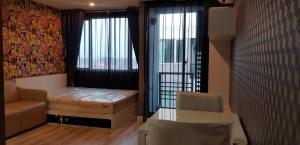 For RentCondoRama5, Ratchapruek, Bangkruai : # For rent Sammakorn S9 Condominium Rattanathibet (S9 Sammakorn Rattanathibet) size 25 sq m, building B, 8th floor, 1 bedroom, 1 bathroom, 1 car park, rental price 5,500 baht / month (including common fee), contract minimum 1 Insurance payment year