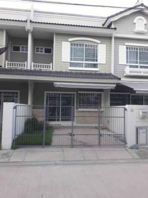 For RentTownhouseBangna, Lasalle, Bearing : For rent very cheap. Townhome Indy Bangna KM 7.