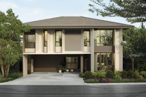 For SaleHouseSamrong, Samut Prakan : House for sale 4 bedrooms, 4 bathrooms, Saransiri Sriwaree on a potential location.